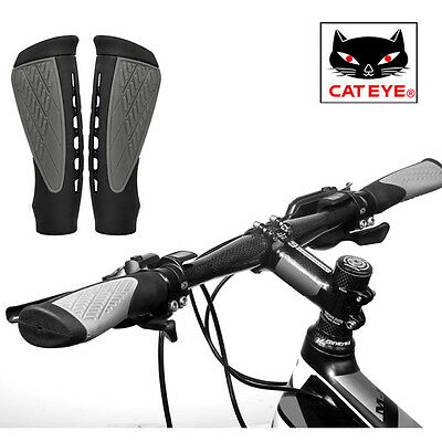 CATEYE MTB Bicycle Handle Grips Skid-Proof Anti-Skid TPR Rubber Road Bike Grips