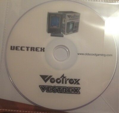 Vectrex Emulator With 60+ Public Domain Games And Demos