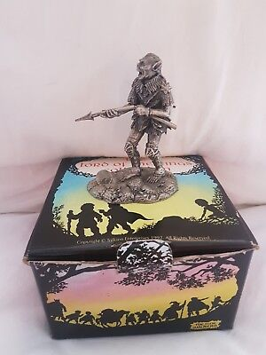 tudor mint lord of the rings. An Orc Figurine No. 5030