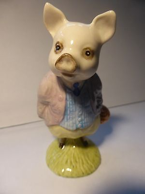 Lovely Beswick Pigling Bland - Mint - Boxed - BP - 10c