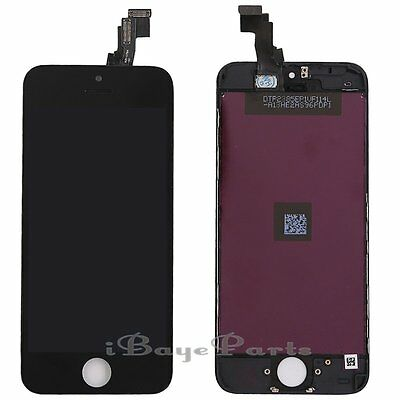 For iPhone 5C LCD Touch Display Screen Digitizer Replacement Black Assembly