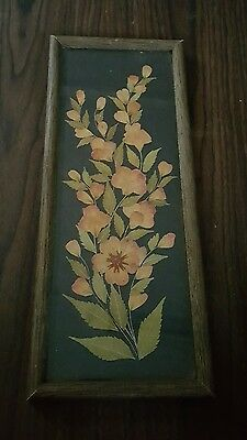 Bali, Pressed Flower Art, Framed