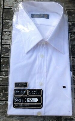 vintage St Michael mens White shirt in Original packaging