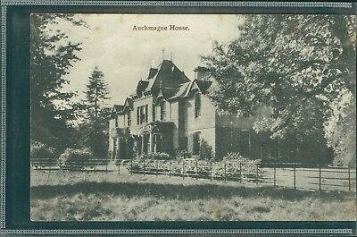 Auchmague House, Perthshire. Printed, C.1920.