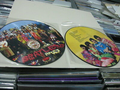 Beatles Picture Disc Sgt Peppers Lonely Hearts Club Band