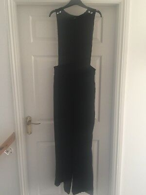 Florence And Fred Black Wide Leg Jumpsuit Size 12 Bnwt
