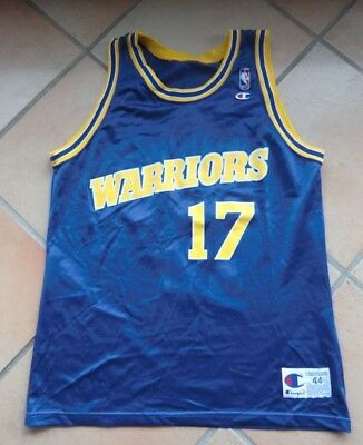 Chris Mullin #17 Golden State Warriors NBA Trikot Jersey