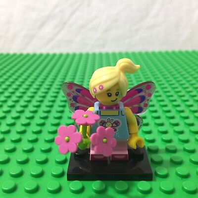 Butterfly Girl Minifigure - Lego - Series 17 - 71018