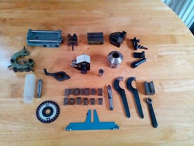 Selection of emco lathe and milling parts + other