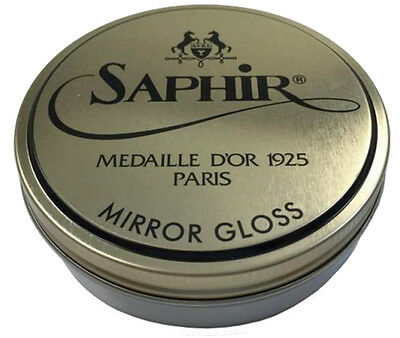 MIRROR GLOSS  Saphir Medaille d'Or - high shine polish for your shoes