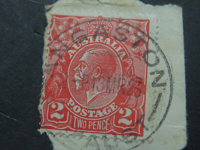 "KGV Variety - ""AG"" of Postage Joined - 2d Red"