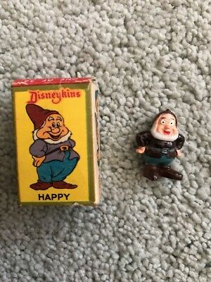 Marx Walt Disney Disneykins ' Happy ' 1960's (Boxed)