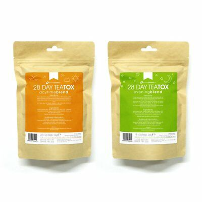 28 day Teatox, day & night blend, weight loss detox tea, natural forumulation