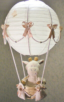 Hot Air Balloon Lamp-light Shade for Baby Nursery with ALFFIE