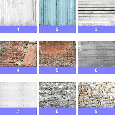 Brick Stone Concrete Wood Planks Wall Mural Photo Wallpaper TX-WM