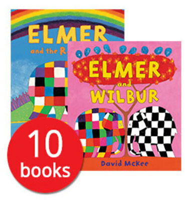 Elmer Collection - 10 Books
