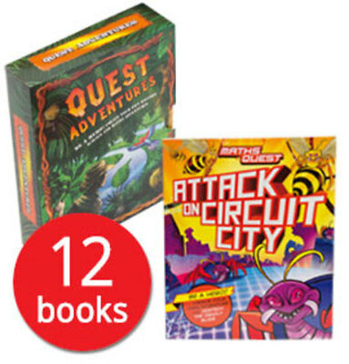 Quest Adventures Collection - 12 Books
