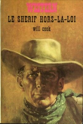 Masque Western N°7 -Will Cook - Le sherif hors-la-loi - EO 1967