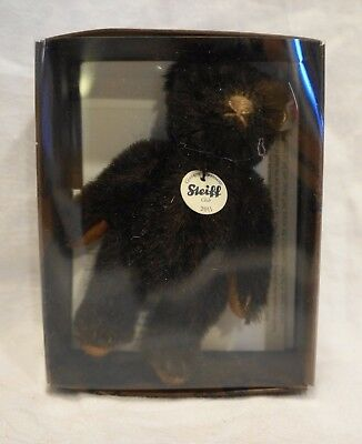 Steiff Club Mini Chocolate Brown Mini Bear Teddy EAN 421167 7 CM 2011 NIB