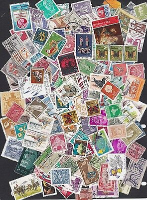 FREE OFFER world stamps - All Off paper bag of 150 unsorted stamps 5