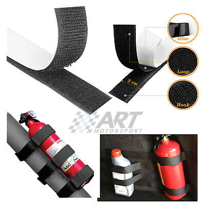 Set Of Strips Of Clamping For Fire Extinguisher Trunk Car Bottles Tools