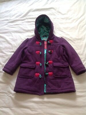 Girls Marks & Spencer Autograph Duffle Coat Age 5-6 Years