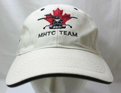 Helicopter Pilot Hat PCL Logo MHTC Team  Zero Incidents Safety Award Hat