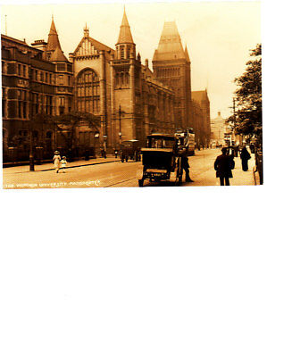 Unused Postcard, Manchester, Victoria University