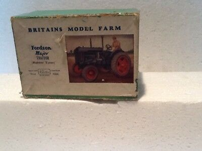 Britains model farm Tractor Box only (No 128F)