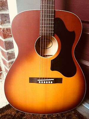 Recording King Classic OOO ROS-9-TS Acoustic Guitar with Hardshell Case