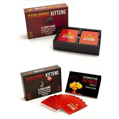 Exploding Kittens: NSFW Edition (Explicit Content - ADULTS ONLY!) - BRAND NEW))