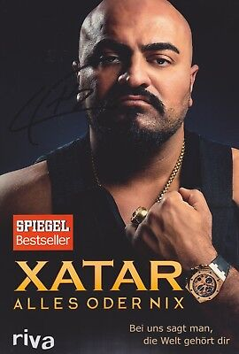 XATAR 1 Alles oder nix Foto 20x30 signiert Autograph signed IN PERSON Autogramm