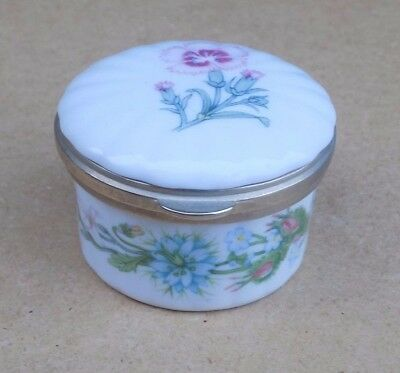 AYNSLEY Wild Tudor Trinket Box