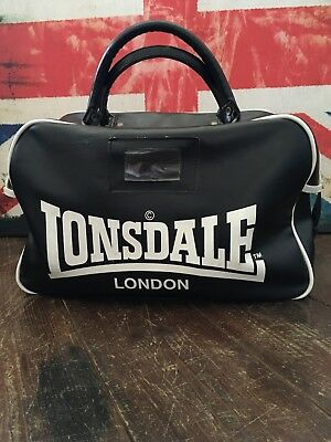 Lonsdale Small Holdall bag - Skinhead, Scooter Rally, Mod, gym