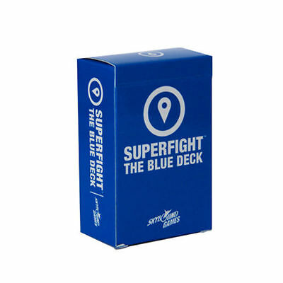 SUPERFIGHT super fighter expansion Card games against humanity blue