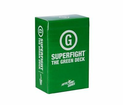 SUPERFIGHT super fighter expansion Card games against humanity green