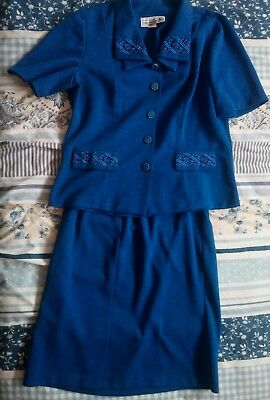 True Vintage Skirt Suit 50s/60s? American Made 16