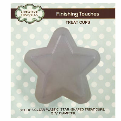 Creative Expressions Treat Cups - Star