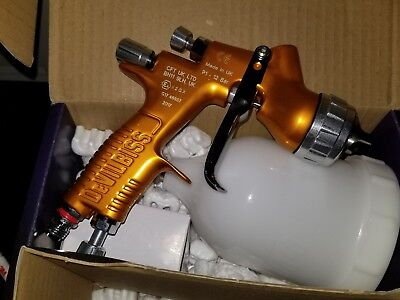 DeVilbiss GTI PRO LITE GOLD Original Spray Gun (NEW) - ANY CONFIGURATION