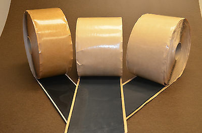 """peel and stick EPDM covertape 7"""" x 100'"""