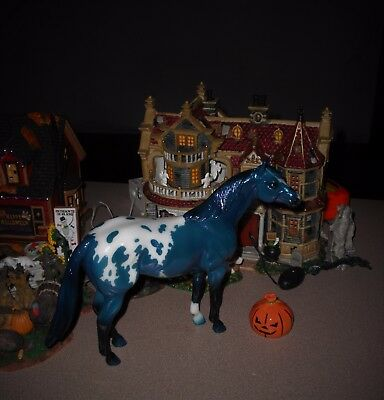 Breyer  2017 Collector Club Exclusive -Calvin- Appaloosa In Metallic Blue