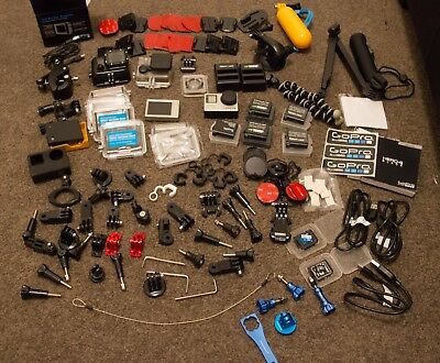 GoPro Hero 4 Black and Heaps Of Accessories