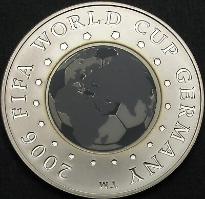 BELARUS 20 Roubles 2005 Proof - Silver - FIFA World Cup 2006 - 746 ¤