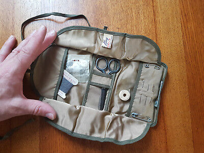 WWII US Army Sewing Repair Kit  Genuine WWII artifact found in Normany, France