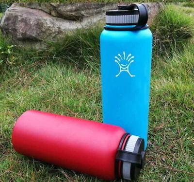 2PC New 32 oz Hydro Flask Insulated Stainless Steel Water Bottle Wide Mouth -Q3