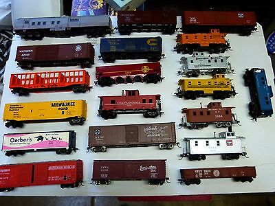 20 HO Scale Cars - Used  Varies Types