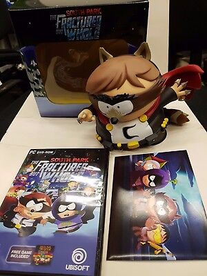 South Park Collectors Edition Cartman Coon statue postcards pc emty box NO GAME