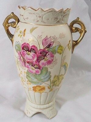 Toc Crown Ducal Ware Pottery Large Vase With Handles