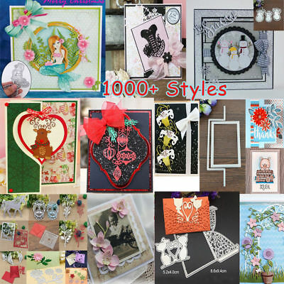 Metal Cutting Dies Stencils Scrapbook Card Paper Album Decor Embossing Craft DIY