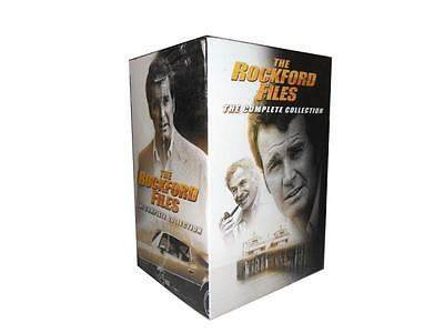 The Rockford Files: Complete Series Season 1 to 6 & Movies (DVD, 34-Disc Set)